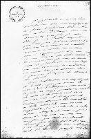 Jean-Henri FABRE's manuscript, letter to John Stuart Mill, page 1